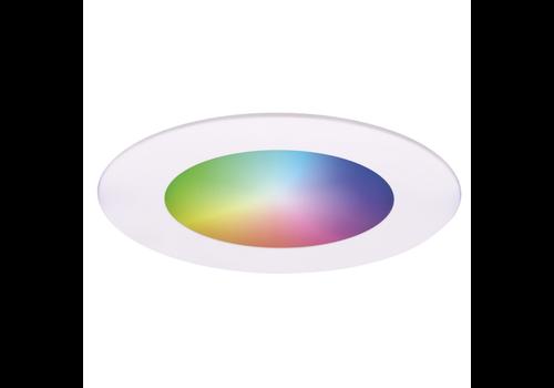 Homeylux Smart WiFi LED recessed spotlight Aura RGBWW White IP44 1050lm