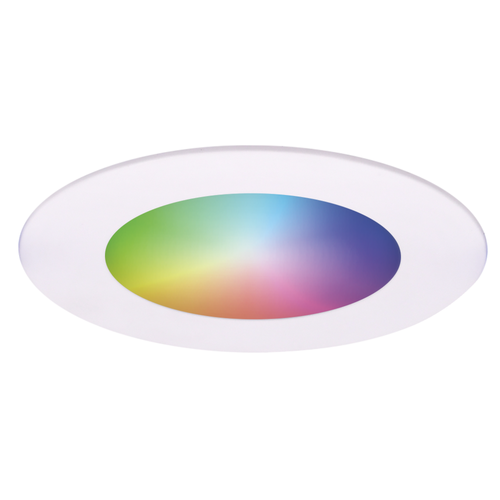 Homeylux Intelligenter WiFi LED-Einbaustrahler Aura RGBWW Weiß IP44 1050lm