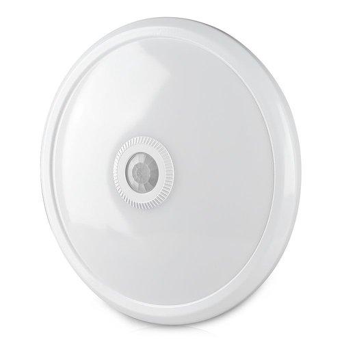 V-TAC LED plafondlamp Wit met bewegingssensor 12W 800 Lumen 6400K IP20 3 jaar garantie