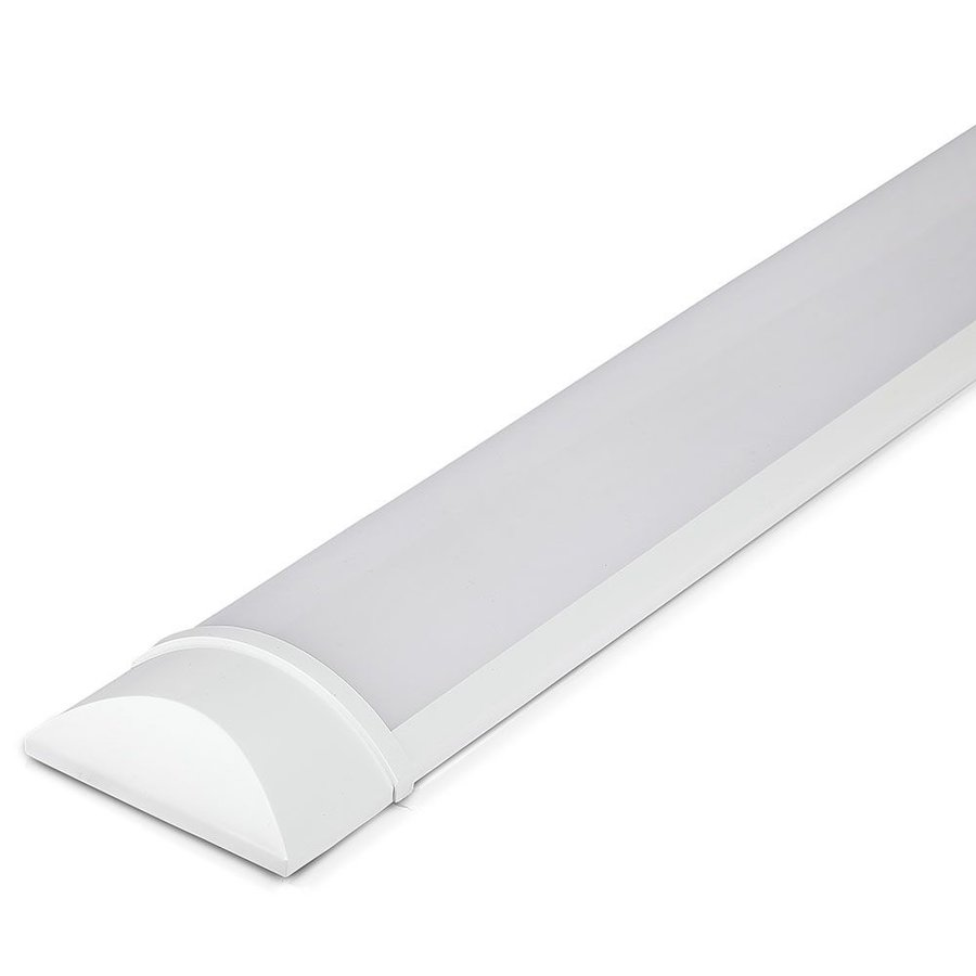 LED Batten 120 cm 40W 6400K 4800lm Samsung LEDs -  5 year warranty incl. mounting clips
