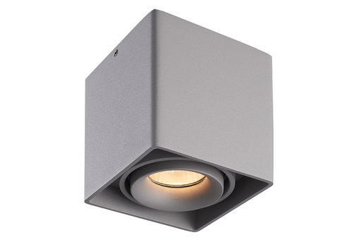 HOFTRONIC™ Dimmable LED surface mounted ceiling spotlight Esto 2700K GU10 Grey IP20 tiltable