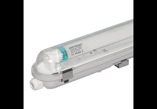 HOFTRONIC™ LED T8 TL armatuur IP65 120 cm 3000K 18W 2520lm 140lm/W Flikkervrij koppelbaar