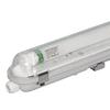 10x LED T8 TL armatuur IP65 120 cm 3000K 18W 2880lm 160lm/W Flikkervrij koppelbaar