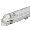 10x LED T8 fixture IP65 120 cm 4000K 18W 2880lm 160lm/W Flicker Free linkable