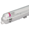 LED T8 fixture IP65 120 cm 4000K 18W 3150lm 175lm/W Flicker Free linkable