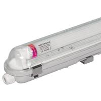 10x LED T8 TL armatuur IP65 120 cm 4000K 18W 3150lm 175lm/W Flikkervrij koppelbaar