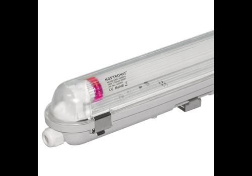 HOFTRONIC™ 10x LED T8 TL armatuur IP65 120 cm 4000K 18W 3150lm 175lm/W Flikkervrij koppelbaar