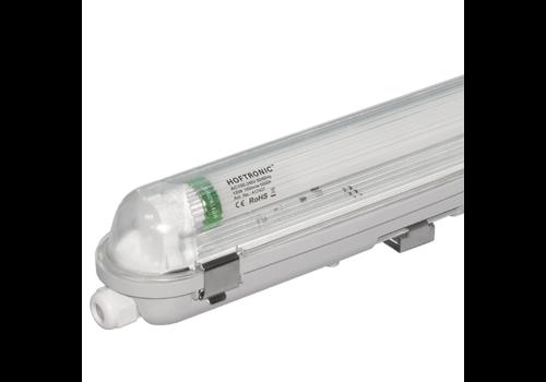 HOFTRONIC™ 10x LED T8 Wannenleuchte IP65 120 cm 6000K 18W 2880lm 160lm/W Flimmerfrei verlinkbar