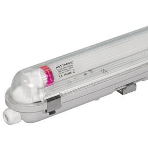 HOFTRONIC™ LED T8 TL armatuur IP65 120 cm 6000K 18W 3150lm 175lm/W Flikkervrij koppelbaar