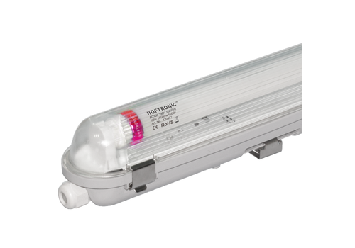 HOFTRONIC™ LED T8 fixture IP65 120 cm 6000K 18 Watt 3150lm Flicker Free linkable