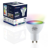 GU10 SMART LED RGBWW Wifi 5.5 Watt 400lm 120° Dimmable
