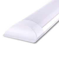 LED Batten 60 cm 15W 3000K 2250lm Samsung -  5 year warranty incl. mounting clips & quick connector