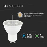 Dimbare GU10 LED lamp 5 Watt 3000K (vervangt 40W)