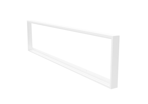 HOFTRONIC™ LED Panel Surface-mounted frame 30x120 cm white for LED panels 125lm/W