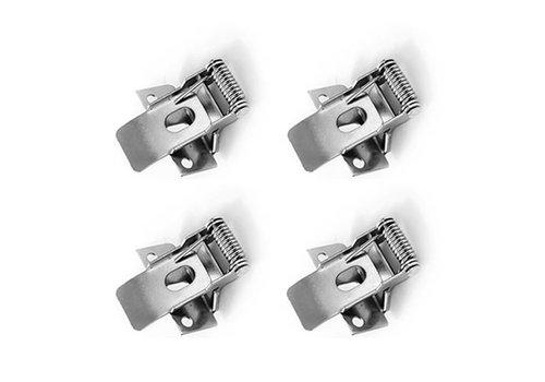 HOFTRONIC™ Klemveren set 4 stuks voor 60x60 LED Panelen (125lm/W)