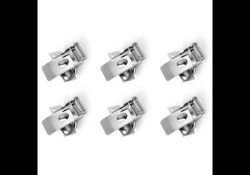 HOFTRONIC™ Klemveren set 6 stuks voor 30x120 LED Panelen (125lm/W)