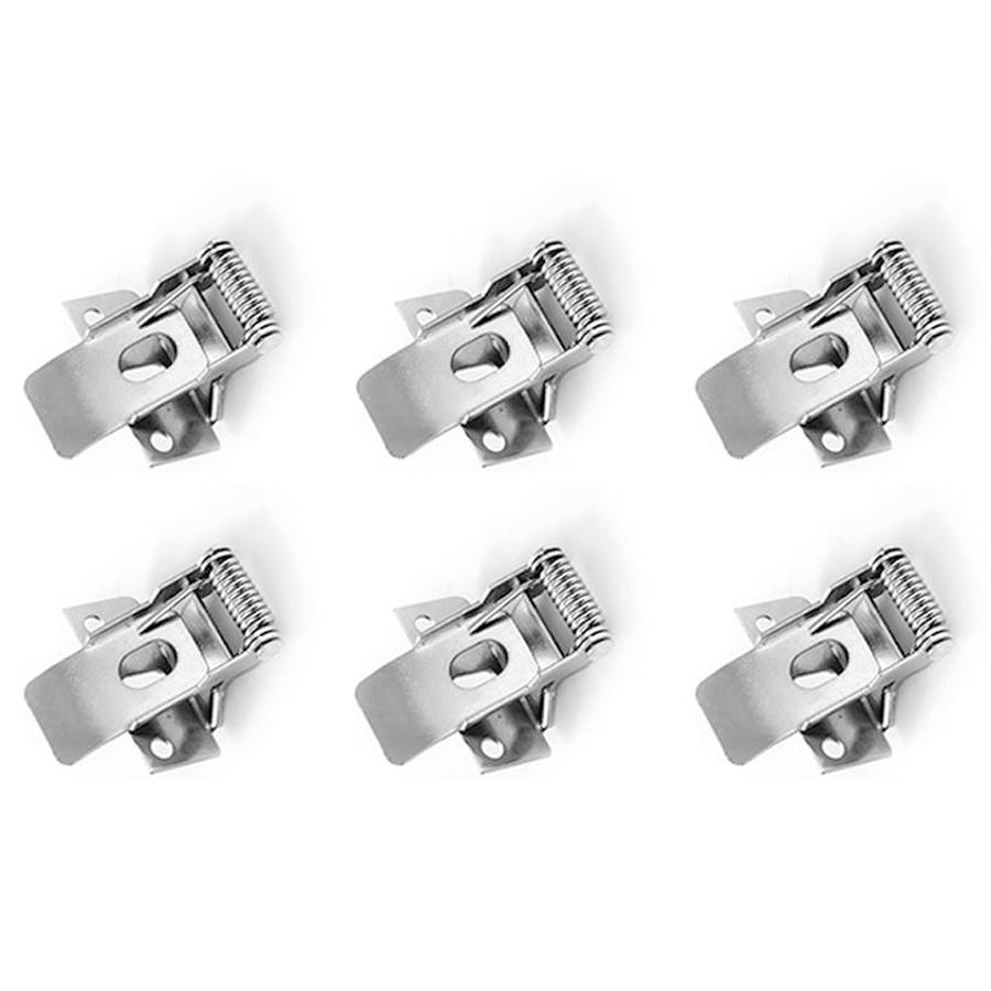 Klemveren set 6 stuks voor 30x120 LED Panelen (125lm/W)
