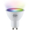 Homeylux GU10 SMART LED RGBWW Wifi 5.5 Watt 345lm 38° Dimbaar