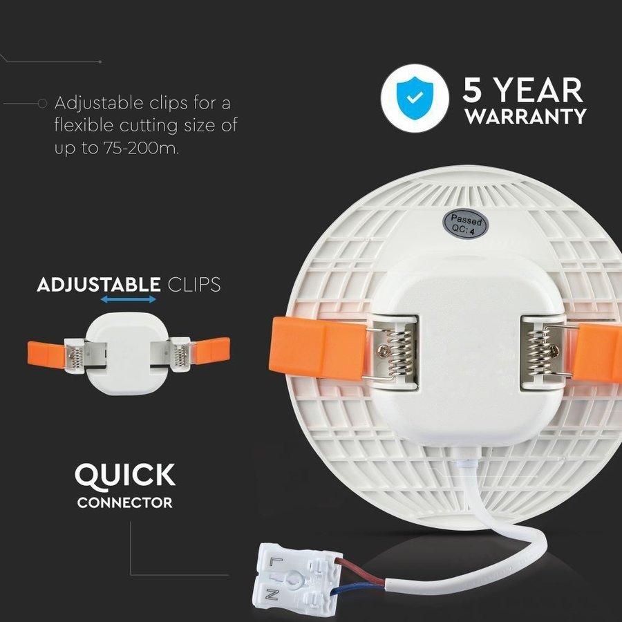 Kiri LED inbouwspot 3000K incl. lichtbron 24 Watt IP20 5 jaar garantie