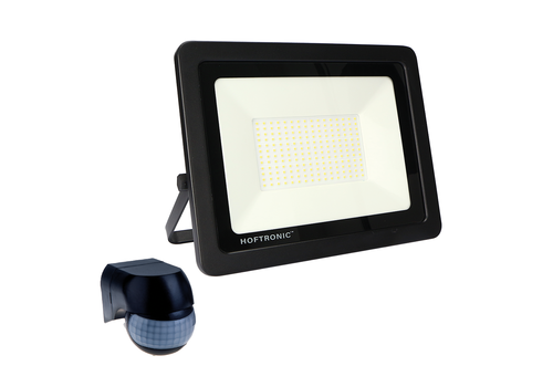 HOFTRONIC™ LED Floodlight with twilight switch 150 Watt 6400K Osram IP65 replaces 1350 Watt