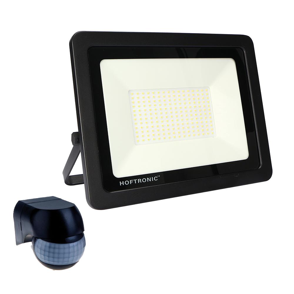 LED Breedstraler met bewegingssensor en schemerschakelaar 150 Watt 6400K Osram IP65 vervangt 1350 Wa