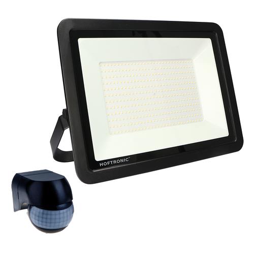 HOFTRONIC™ LED-Fluter mit Dämmerungsschalter 200 Watt 6400K Osram IP65 ersetzt 1800 Watt