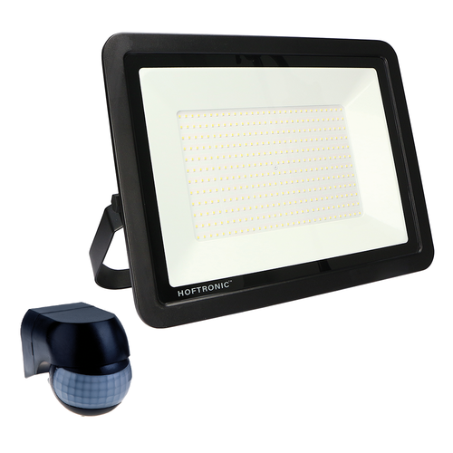 HOFTRONIC™ LED Breedstraler met schemerschakelaar 300 Watt 4000K Osram IP65 vervangt 2500 Watt