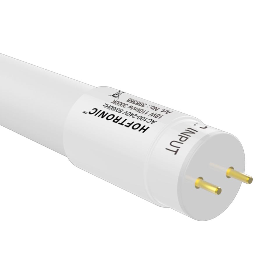 10x LED TL armatuur IP65 120 cm Koppelbaar 3000K incl. 18W LED buis RVS Clips