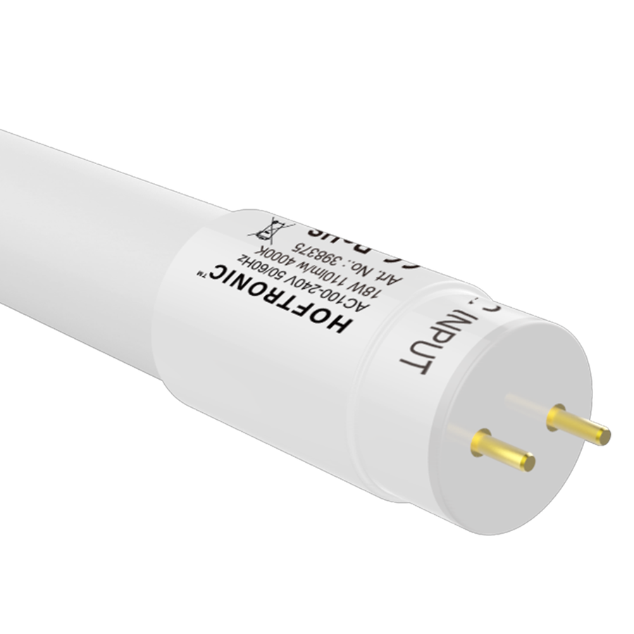 10x LED TL armatuur IP65 120 cm Koppelbaar 4000K incl. 18W LED buis RVS Clips