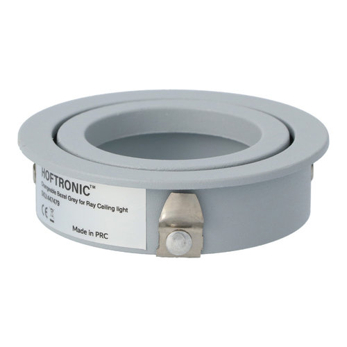 HOFTRONIC™ Afdekring plafondspots Ray Grijs IP20