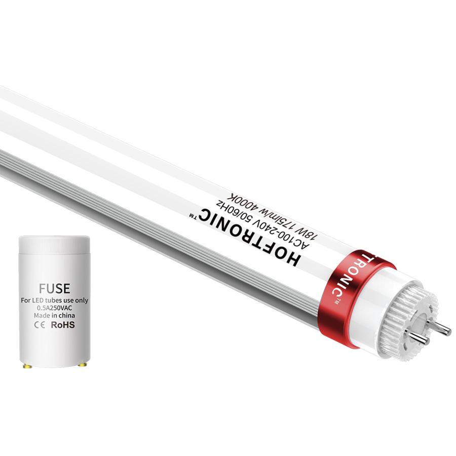10x LED T8 TL buis 120 cm 18 Watt 3150 Lumen 4000K Flikkervrij 175lm/W - 50.000 branduren - 5 jaar garantie
