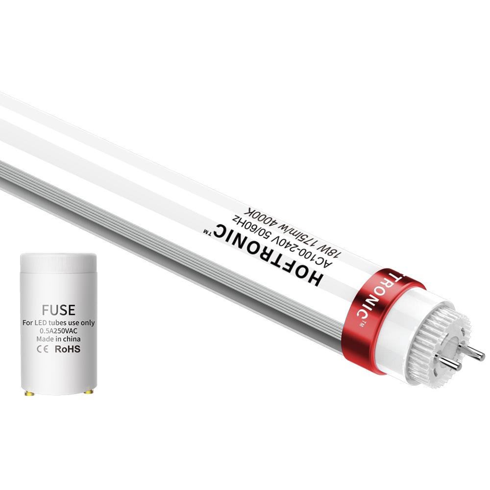 10x LED T8 TL buis 120 cm 18 Watt 3150 Lumen 4000K Flikkervrij 175lm/W - 50.000 branduren - 5 jaar g