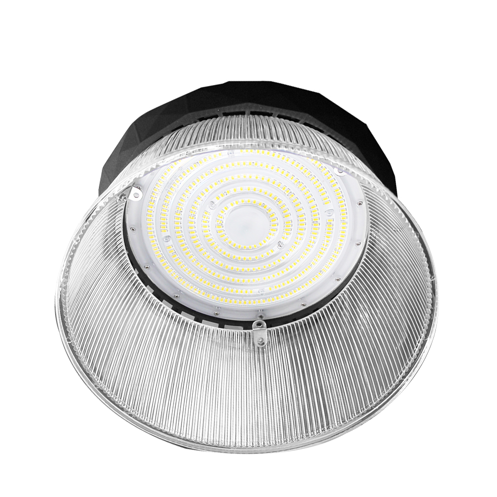 LED High bay 200W IP65 Dimbaar 5700K 190lm/W met reflector Hoftronic Powered 5 jaar garantie