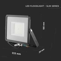 LED Breedstraler 50 Watt IP65 4000K 120lm/W Samsung 5 jaar garantie