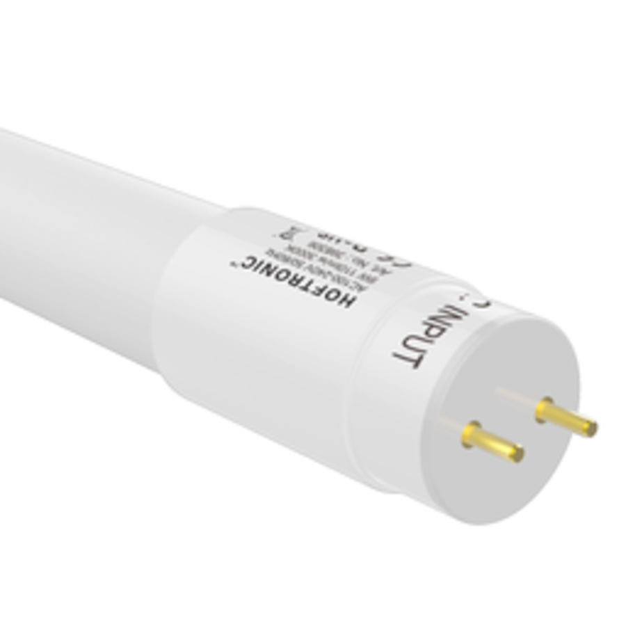 IP20 LED TL armatuur 60 cm incl. 2x9W 1980lm 3000K 110lm/W LED buis