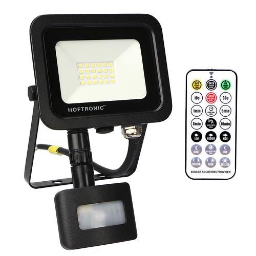 HOFTRONIC™ LED Breedstraler met schemerschakelaar 20 Watt 4000K Osram IP65 vervangt 180 Watt