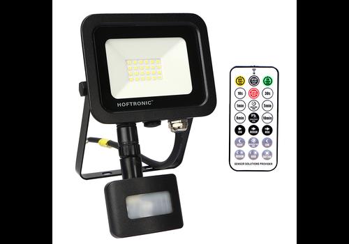 HOFTRONIC™ LED Breedstraler met schemerschakelaar 20 Watt 6400K Osram IP65 vervangt 180 Watt