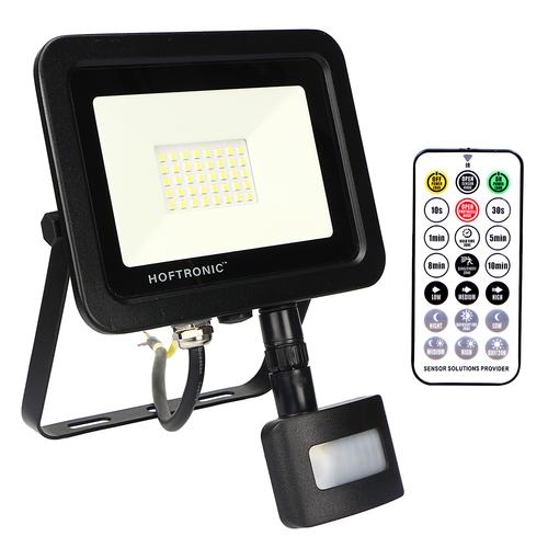 HOFTRONIC™ LED Breedstraler met schemerschakelaar 30 Watt 6400K Osram IP65 vervangt 270 Watt