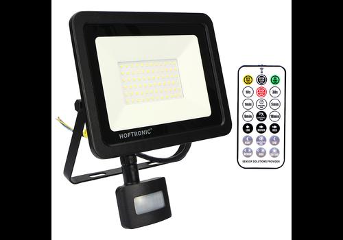 HOFTRONIC™ LED Breedstraler met schemerschakelaar 50 Watt 6400K Osram IP65 vervangt 450 Watt