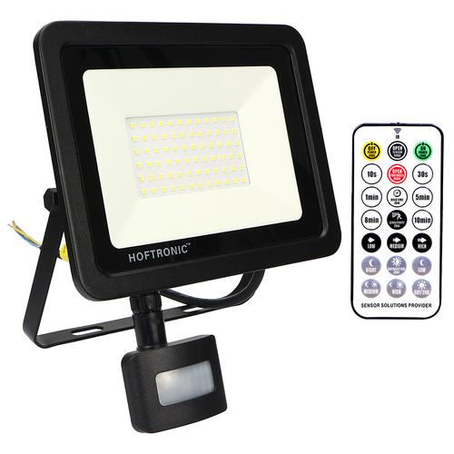 HOFTRONIC™ LED-Fluter mit Dämmerungsschalter 50 Watt 6400K Osram IP65 ersetzt 450 Watt