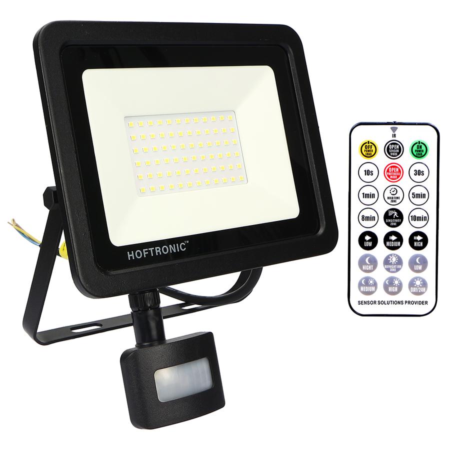 LED Breedstraler met schemerschakelaar 50 Watt 6400K Osram IP65 vervangt 450 Watt