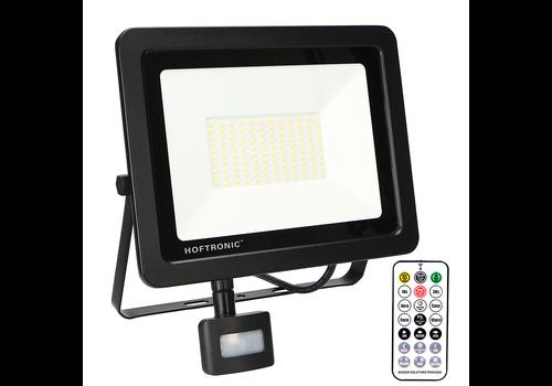 HOFTRONIC™ LED-Fluter mit Dämmerungsschalter 100 Watt 6400K Osram IP65 ersetzt 1000 Watt