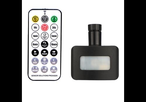 HOFTRONIC™ Draadloze Schemerschakelaar Zwart Geschikt voor HOFTRONIC LED Breedstralers