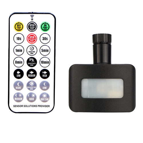 HOFTRONIC™ Wireless Daylight sensor black Suitable for HOFTRONIC LED Floodlights