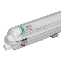 LED T8 TL armatuur IP65 150 cm 3000K  25W 3500lm 140lm/W