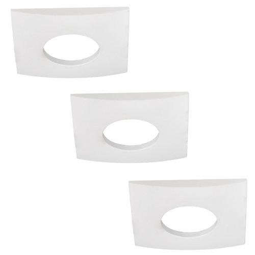 HOFTRONIC™ Set van 3 stuks dimbare LED inbouwspots Garland 4.2 Watt spot IP44 [vochtbestendig]