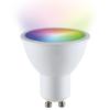 V-TAC GU10 SMART LED RGBWW Wifi 5 Watt 400lm 110° Dimbaar
