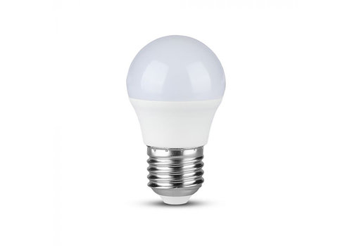 V-TAC LED Bulb with Samsung chip 7 Watt E27 G45 Plastic
