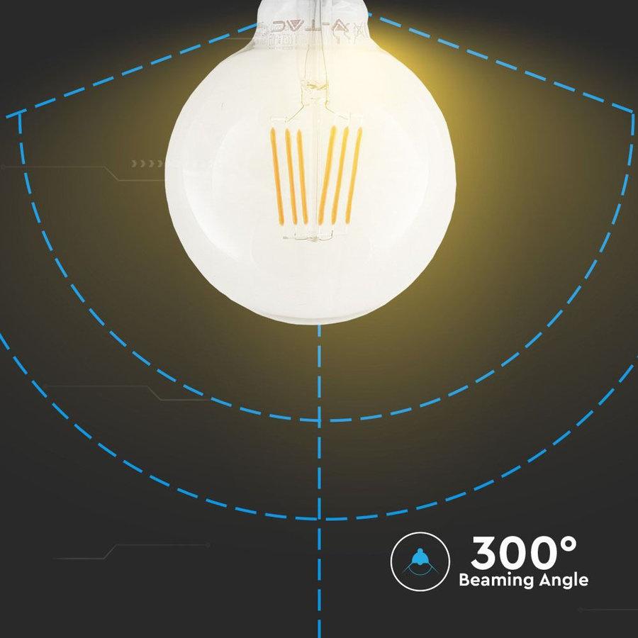LED Lamp met Samsung chip 6 Watt E27 2700K