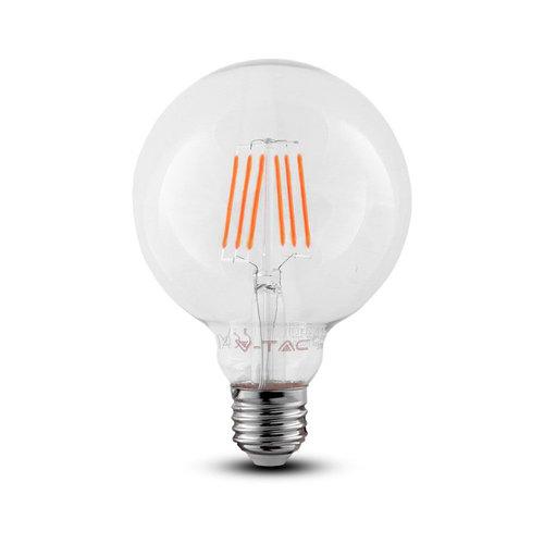 V-TAC LED Lamp met Samsung chip 6 Watt E27 2700K